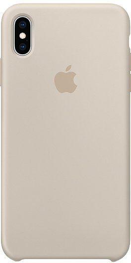 Apple Silikonový Kryt Na Iphone Xs Max, Kamenně Šedá mrwj2zm/A