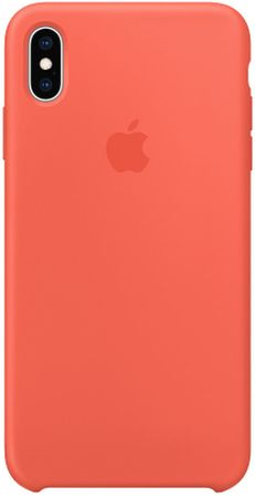 Apple Szilikon tok na iPhone XS Max, nektarin színű MTFF2ZM/A