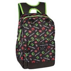 J!nx nahrbtnik Minecraft Scatter Creeper Backpack, 43 cm
