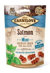 Carnilove Cat Crunchy Snack Salmon with Mint with fresh meat 3x50g