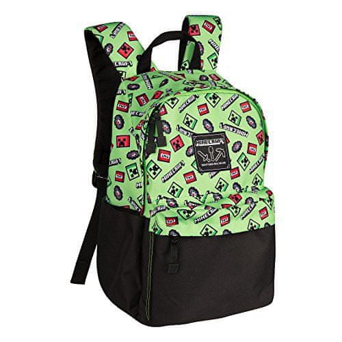 J!nx nahrbtnik Minecraft Scatter Creeper Backpack, 40 cm
