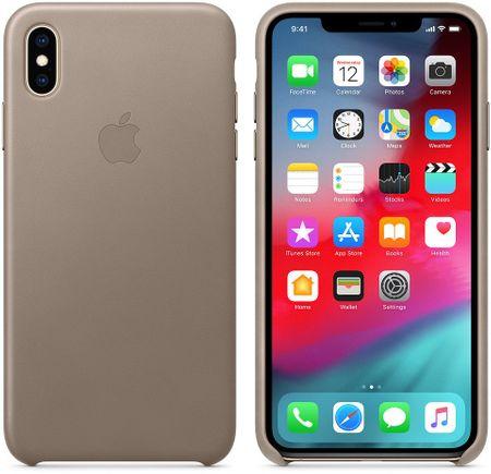 Apple kožený kryt na iPhone XS Max e3d60bc2f26