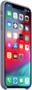3 - Apple etui silikonowe iPhone XS Max, lawendowo-szary MTFH2ZM/A