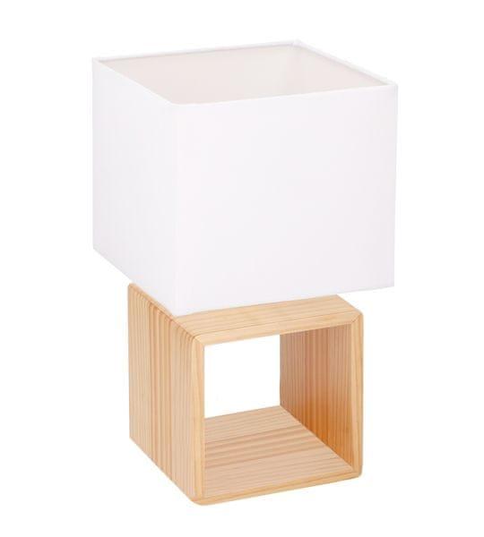 TimeLife Stolní lampa, dřevěná