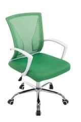 BHM Germany Kancelářská židle s područkami Flade, zelená