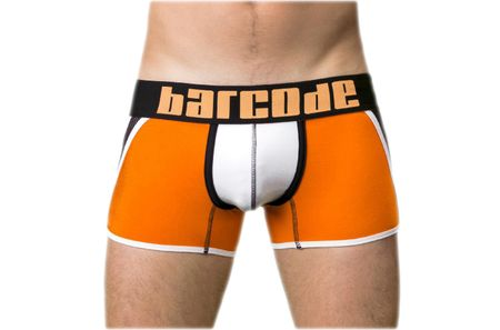 BARCODE BERLIN oranžové pánske boxerky Danuka 91126 - Velikost: M