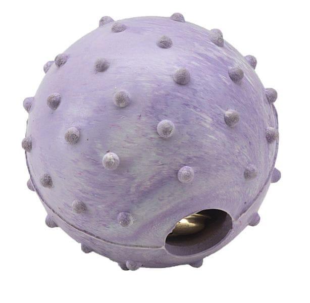 Gimborn Hračka Gimborn z tvrdé gumy míč barevný na pamlsky - hračka pro psy 6,5 cm