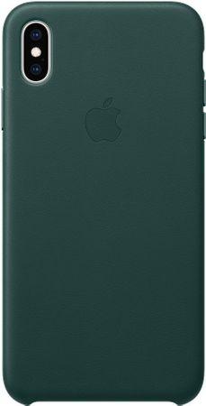 Apple kožený kryt na iPhone XS Max, piniově zelená MTEV2ZM/A