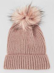 s.Oliver dámská růžová čepice