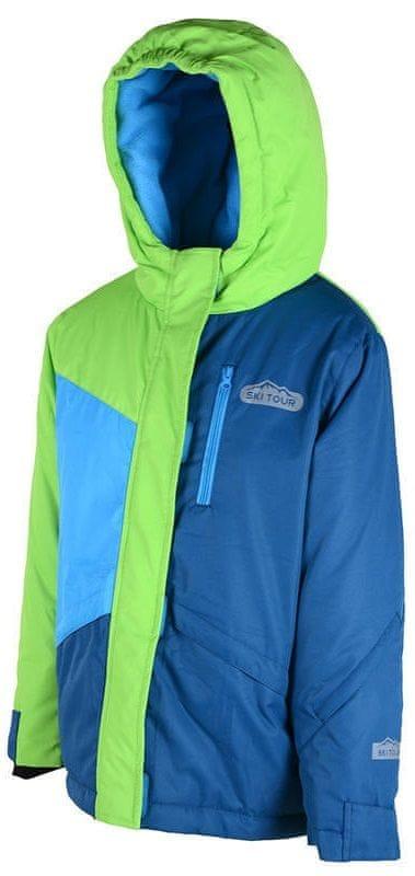 PIDILIDI lyžařská bunda 122 modrá