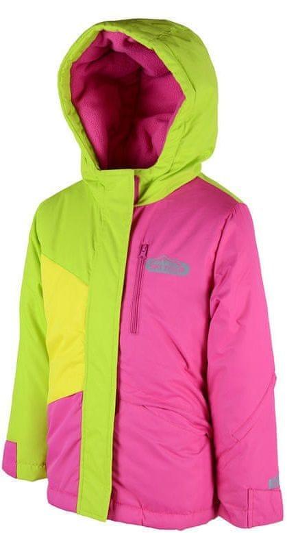 PIDILIDI lyžařská bunda 122 růžová