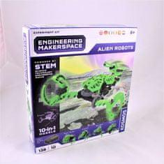 Kosmos inženirski set Alien Robots