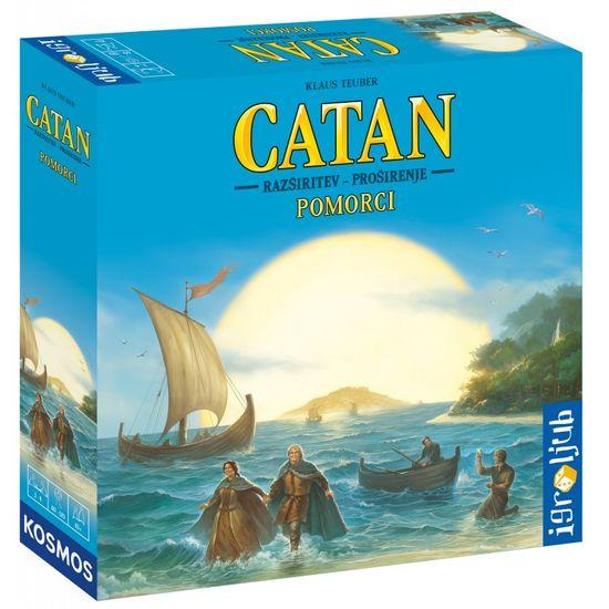 Igroljub družabna igra Catan - razširitev Pomorci