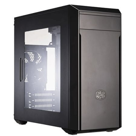 Cooler Master ohišje MasterBox Lite 3, Mini ATX, črno