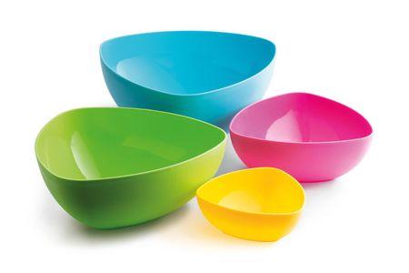 MEGA PLAST Set misek TIFFANY 4 ks (mix barev)