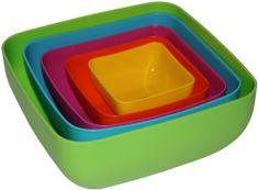 MEGA PLAST Set misek KLARA 5 ks (mix barev)