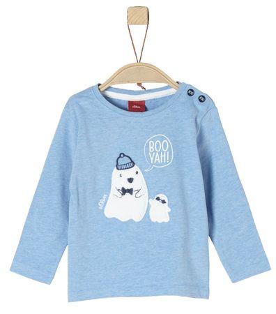 s.Oliver koszulka chłopięca 74 niebieska