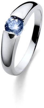 Oliver Weber Beach Tender ezüst gyűrű kék kristállyal 63224 BLU (áramkör XL (60 - 63 mm)) ezüst 925/1000