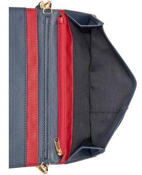 Čierna kabelka Tommy Hilfiger TH Enamel-Serif Convertible Crossbody Clutch 038ced60c06