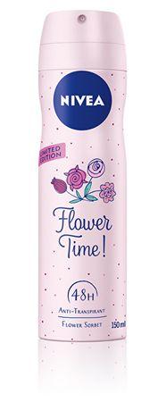 Nivea Antyperspirant aerozolu 150 ml Czas kwiatów