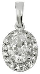 Brilio Silver Gyönyörű medál női 446 154 00 177 04 - világos - 1,40 g ezüst 925/1000