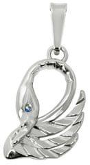 Brilio Silver Ezüst medál Swan 446 001 00 784 04-1,37 g ezüst 925/1000