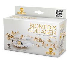 Biomedix Collagen 32 sáčků + C-Vitamin 100 mg 60 tablet
