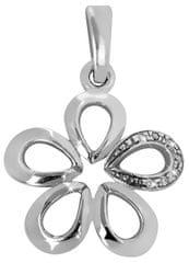 Brilio Silver Ezüst virág medál 446 001 00366 04 - 0,71 g ezüst 925/1000