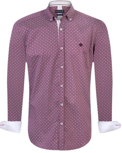Sir Raymond Tailor pánská košile Break XL fialová