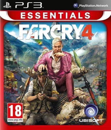 Ubisoft igra Far Cry 4 - Essentials (PS3)
