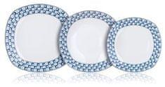 Banquet set krožnikov Lounge, 18 kosov
