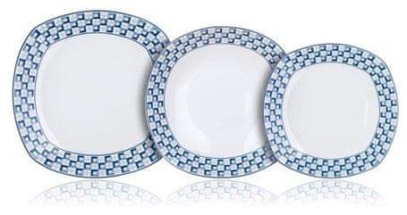 Banquet Sada talířů square LOUNGE, 18 ks