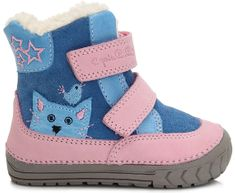 D-D-step dívčí zimní boty s kočičkou