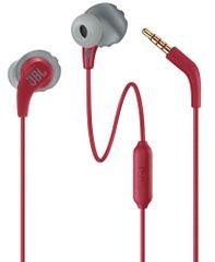 JBL Endurance Run sluchátka s mikrofonem, červená