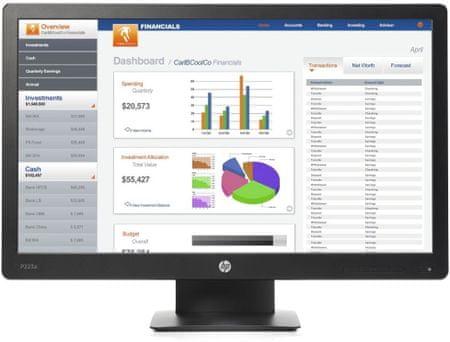 HP monitor ProDisplay P223a