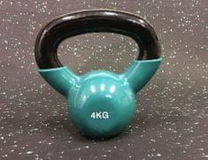 Ruilin Kettlebell vinil utež 4 kg