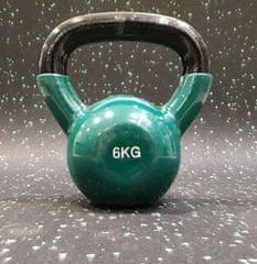 Ruilin Ketttlebell vinil utež 6 kg