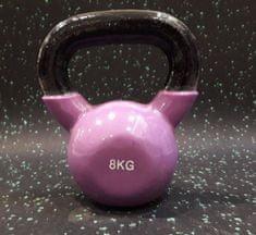 Ruilin Ketttlebell vinil utež 8 kg
