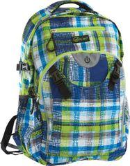 Wheel Bee LED Generation Z nahrbtnik, modro-zeleno-bel, 30 l