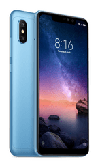 Xiaomi Redmi Note 6 Pro, 3GB/32GB, Global Version, Blue