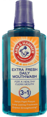 Arm & Hammer Extra Fresh 3 in 1 400 ml ústní voda 2 ks
