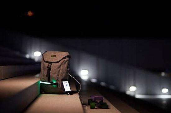 Wheel Bee nahrbtnik City Lights z LED svetilko