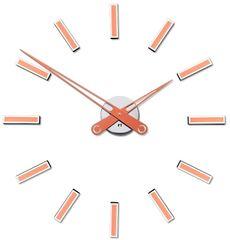 Future Time Felragasztható designos óra FT9600CO réz 60 cm