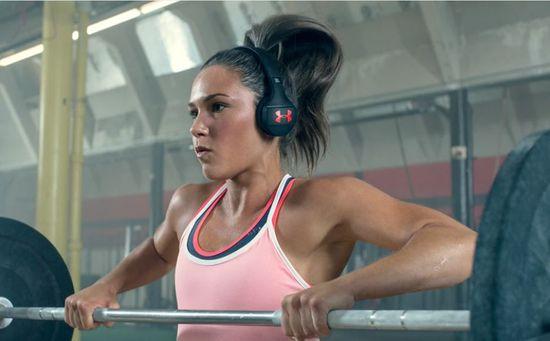 JBL brezžične slušalke UA Sport Train