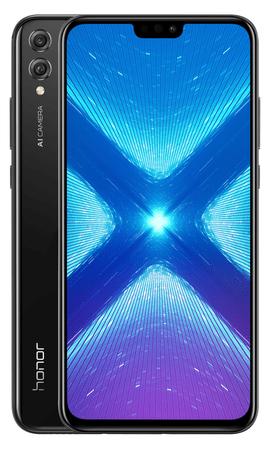 Honor 8X, 4/128GB, Black