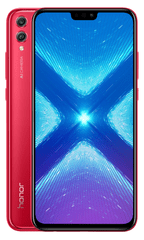 Honor Smartfon 8X, 4/128GB, Red