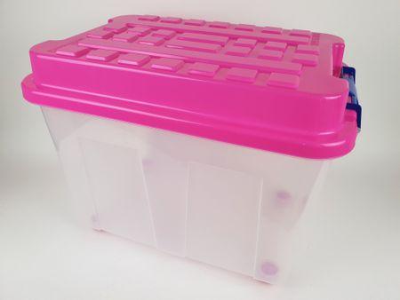 Heidrun škatla za shranjevanje Kubrik, 75 l, roza