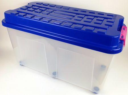 Heidrun škatla za shranjevanje Kubrik, 100 l, modra
