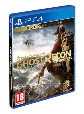 Ubisoft videoigra Tom Clancy's Ghost Recon: Wildlands - Gold Edition (PS4)