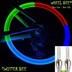 Wheel Bee kolesarska svetilka LED Cycle Bee Twister